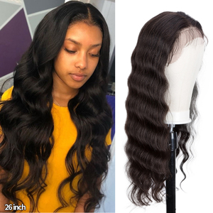Black Pearl Body Wave Ombre Lace Front Wig 13X4 Human Hair Wigs 8-30 Inch Brazilian Pre-plucked Lace Front Human Hair Wigs(China)