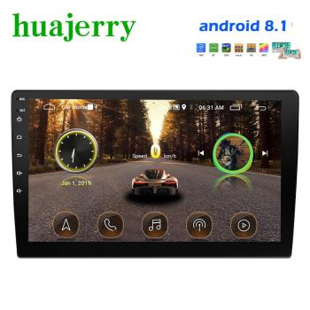 Android 8.1 Car Radio 9 Autoradio Car Multimedia GPS Bluetooth USB/AUX MP5 Player 2din Car Stereo Backup Monitor Car Radio image