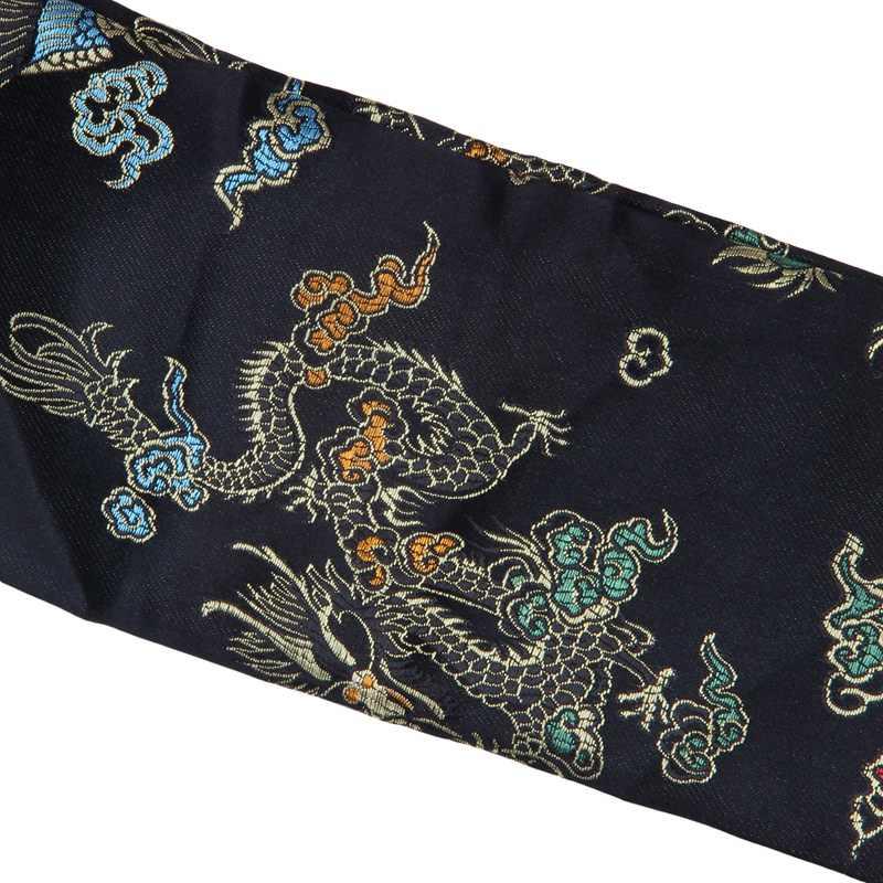 ABGZ-135cm Rồng Và Phượng Hoàng Thanh Katana Samurai Thanh Kiếm Túi Tissu Đen