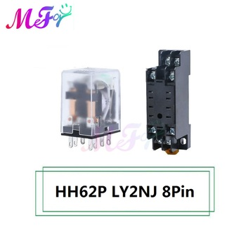 HH62P LY2NJ 8Pin PTF08A Waterproof Automotive Relay 12V 10A 8Pin Car Control Device Relays DC 24V 22