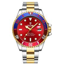 TEVISE Mens Watches Top Brand Luxury Rel