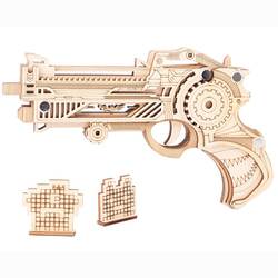 Personalized Home Decoration Children Adult Educational Toys Diy Wooden Model 3D Puzzle High Quality Laser Cutting