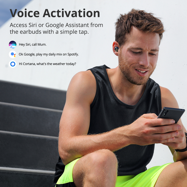 Tronsmart Onyx Neo APTX Bluetooth Earphone TWS Wireless Earbuds with Qualcomm Chip, Volume Control, 24H Playtime
