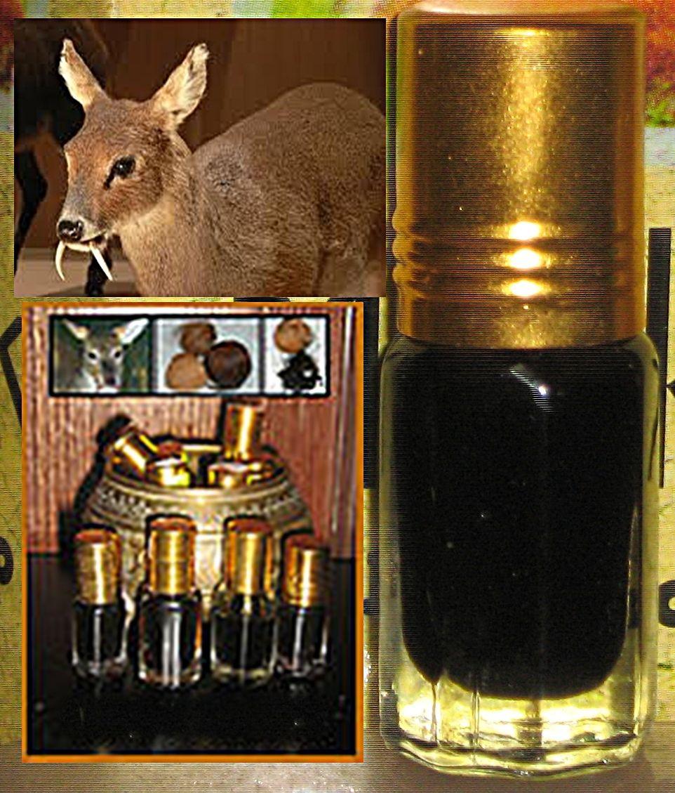 DEER MUSK (BLACK) ATTAR PERFUME OIL - 3ML