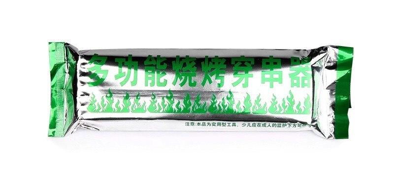 10 шт. портативный шашлычница мини-шашлычница для барбекю Barbacoa инструмент Быстрый шашлычница бытовые вечерние барбекю на открытом воздухе