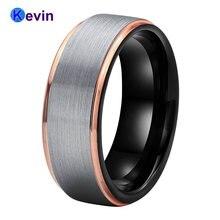 Мужское и Женское Обручальное кольцо из карбида вольфрама с