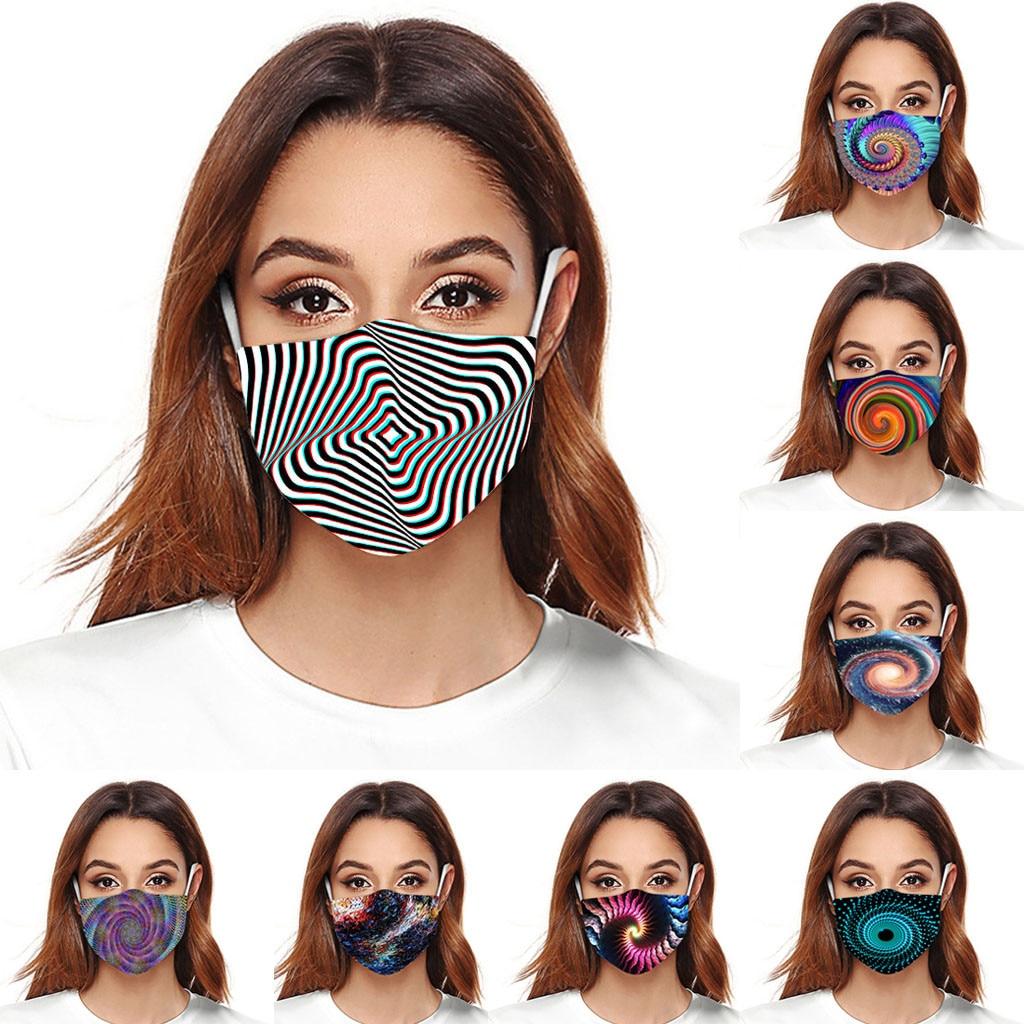 Mouth Mask Starry Sky Print Mouth Cover Anti Dust Reusable Washable Face Masks Cotton Masks Mascarillas Masque De Protection