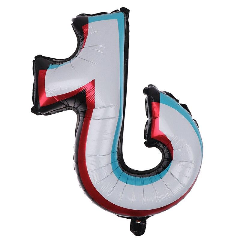 Тематические фольгированные воздушные шары Tiktok, детские игрушки, Рождество, день рождения, вечеринка «сделай сам», живой Декор