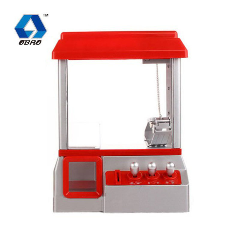Opel 852a Mini Catch Crane Machine Music Claw Machine Folder Doll Educational Toy Game