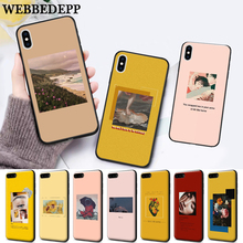 WEBBEDEPP Great art aesthetic Flower Silicone soft Case for iPhone 5 SE 5S 6 6S Plus 7 8 11 Pro X XS Max XR