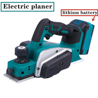 Harbor Lithium Electric Planer Industrial Grade Multifunctional Electric Planer Woodworking Portable Press Planer Portable Elect