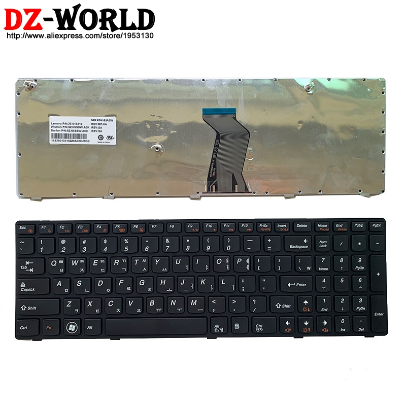 New Black Korean Laptop <font><b>keyboard</b></font> for <font><b>Lenovo</b></font> V570 V570C V575 Z570 Z575 B570 B570A <font><b>B570E</b></font> B570G B575 B575A B575E B590 B590A image