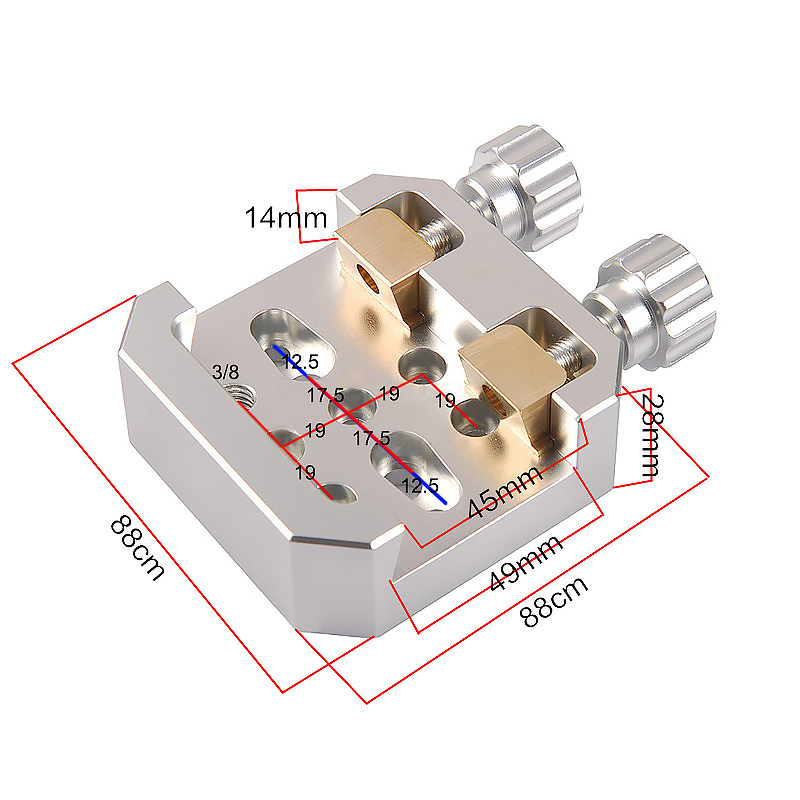 astronômico braçadeira para montagem plataforma equatorial alazimuth montagem