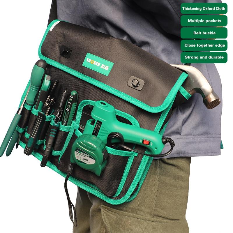Work Kit Bag For Tools Belt Tool Carpenter Electrician Backpack Organizer Pocket Pouch Toolbelt Shoulder Storage Waist Handbag