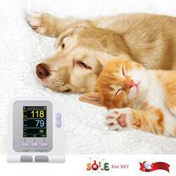 Vet Veterinária OLED digital Blood Pressure & Heart Beat Monitor de NIBP CONTEC08A-VET China & EUA armazém
