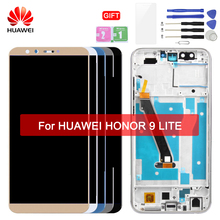 HUAWEI LCD Touch Screen with Frame Original Display For Huawei Honor 9 Lite Display LCDs LLD-L31 L22A AL10 TL10 Replacement ltm190m2 l31 lcd display screens