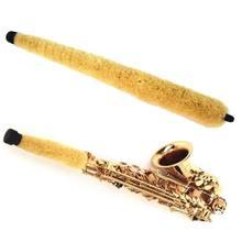 Protetor durável macio da almofada do líquido de limpeza da escova para as peças e acessórios do instrumento do sopro do saxofone do tenor alto soprano