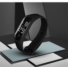 LED Electronic Sports Luminous Sensor Watches Fashion Men and Women Dress Watch digital fashion gif