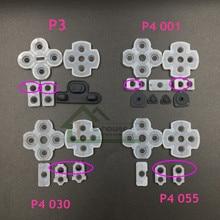 より良い品質 lr 導電性ゴムパッド PS4 JDM001 JDM011 JDM030 JDM055 ため PS3 コントローラボタン連絡ゴム
