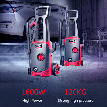 High Pressure Car Washer Home Use Automatic Car Wash Pump High-pressure Water Gun High Power 1400W Washing Machine Cleaning Tool car washer 220v household high pressure cleaner self suction cleaner water jet brush pump self washing pump