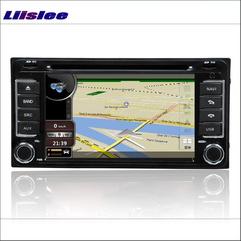 Liislee For <font><b>Toyota</b></font> <font><b>4Runner</b></font> / Hilux / Tundra / Tacoma / T100 Car Radio CD DVD Player GPS Nav Navi Navigation Android S160 System image