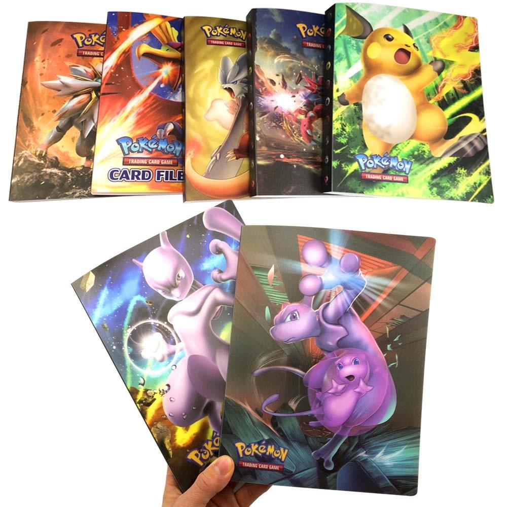 Nouveaux styles 23styles album 240 pièces support album jouets pour nouveauté cadeau pokemones cartes livre Album-in Cartes de collection from Jeux et loisirs on AliExpress