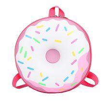 Девочки дети мультфильм круглая рюкзак детский сад начальная школа сумка рюкзак книжная сумка студент милый рюкзак
