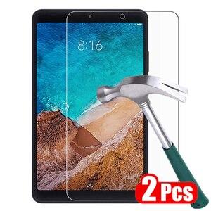 2 pçs vidro temperado para xiaomi mi almofada 4 3 2 protetor de tela para xiaomi mipad 4 8.0 3 2 7.9 capa tablet película protetora de vidro