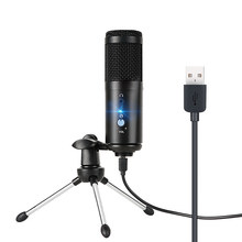 USB Microphone Professional Micro Karaoke Studio Mic Condensor Podcast Computer Microphone With Tripod for Youtube Recording
