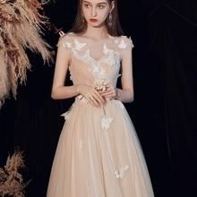 Celebrity Dress Carpet Party Evening Lace Red Floor Appliques V-Neck A-Line Light Prom-Gowns