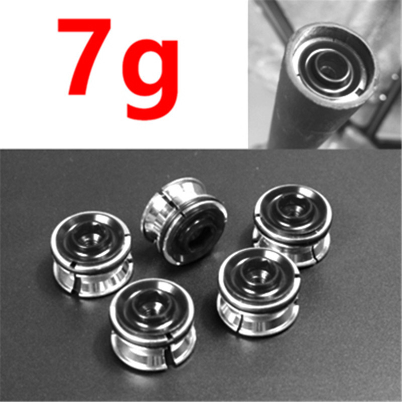 Ultra-light Bike Road Bicycle Fork Headset Stem Expander Star Nuts Cycling Parts