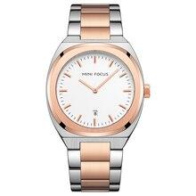 ミニフォーカスメンズ腕時計トップブランドの高級ファッション腕時計男性防水ゴールドステンレス鋼masculinoのリロイのやつ