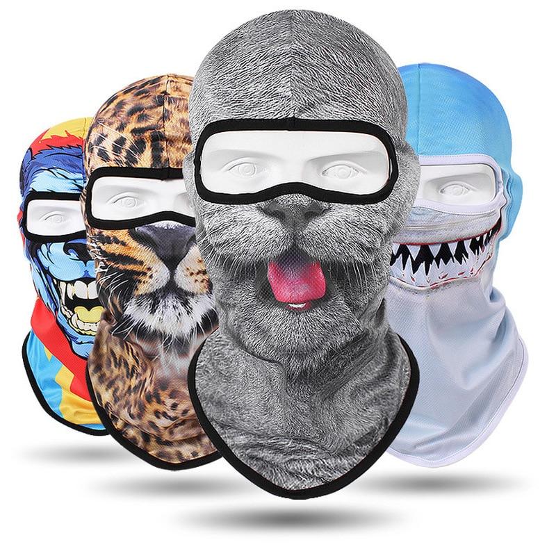 Outdoor Beanie Motorycle Headwear Riding Cycling Bandana Ski Snowmobile Skiing Sport Half Face Mask Balaclava Cycle Bandana