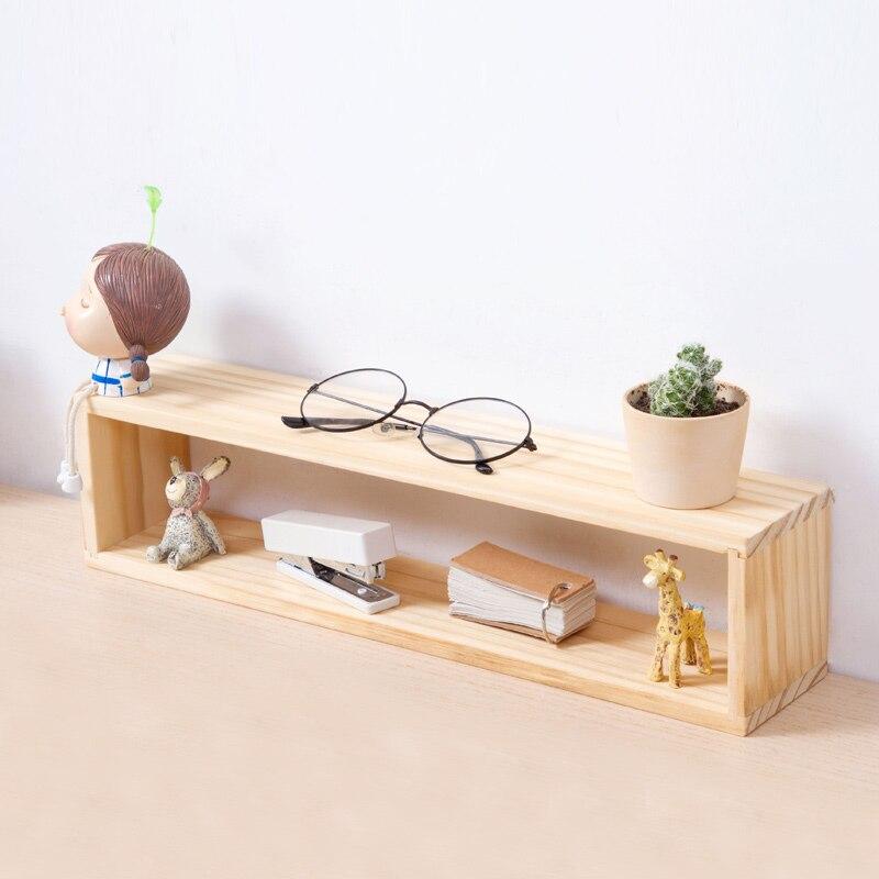 Wooden Desktop Storage Rack Organization for Home Office Table 4