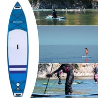 Double layer Surfing Stand Up Paddle Board SurfBoard Adjustable Inflatable 1000D Brushed Wakeboard Bodyboard Sup Board Surf Boat