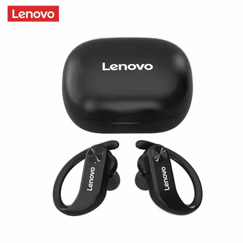 Оригинальные беспроводные наушники Lenovo LP7 TWS Bluetooth гарнитура наушники Двойные стерео басы IPX5 водонепроницаемые для спорта долгий режим ожид...