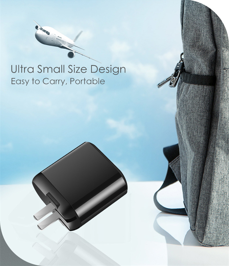 18W PD3.0 QC3.0 LED Display Universal Cellphone Power Adapter PD Charger Travel Wall Charger for iPhone Samsung iPad Xiaomi