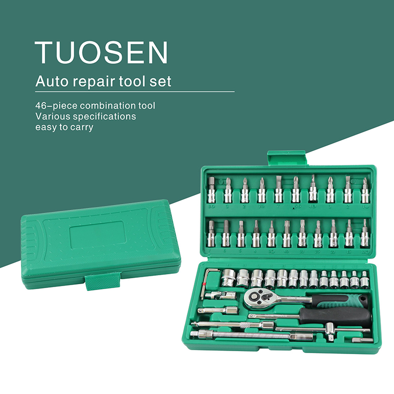 car <font><b>mechanic</b></font> <font><b>tools</b></font> repair <font><b>tool</b></font> set box hand auto kit socket professional wrench set with ratchet auto kits herramientas auto image