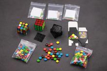 Mini kostka To czekoladowy projekt 2.0 autorstwa henryego harriusa Cube to cukierek sztuczki, iluzja, zabawa, zbliżenie, pokaz magii, pojawianie się obiektu