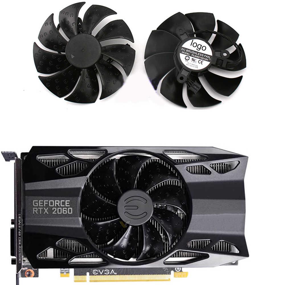 Kipas Pendingin PLA09215S12H untuk Evga RTX2060 GTX1650 1660 1660ti ITX Grafis 4pin