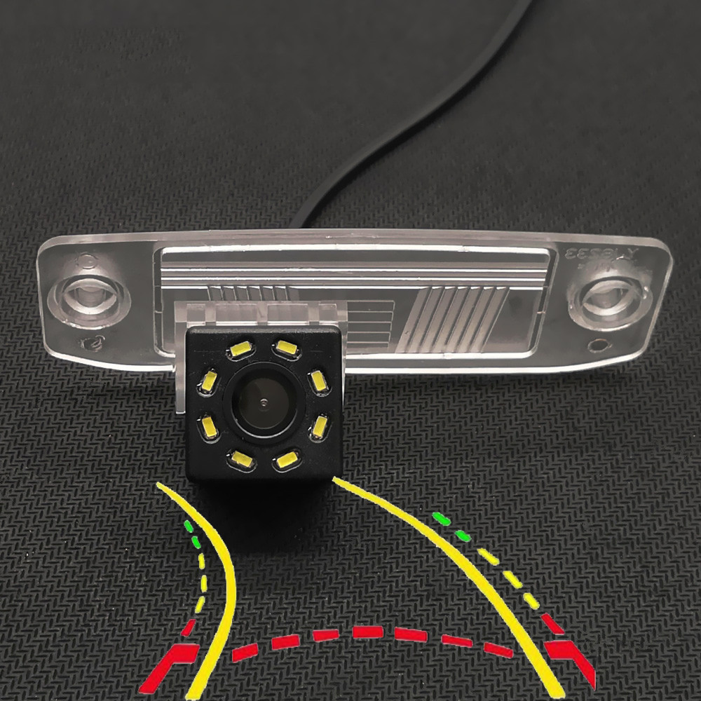 Dynamic Trajectory Track Car Rear View Backup Camera For Kia K3 Sorento Sportage R Ceed Rondo Cerato Carens Borrego Forte Oprius