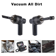 USB Keyboard Vacuum Cleaner Cordless Computer Cleaners Rechargeable with Cleaning Gel Auto For Car Laptop PC Piano Pet Dust