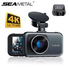 Sony IMX335 wideorejestrator 4K Dash Cam 3 cale Mini Dashcam 4K DVR kamera rejestrator samochodowy 24H Monitor parkowania Super Night Vision