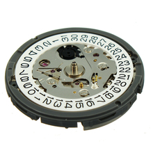 лучшая цена Date Replacement Automatic Portable Spare Part Easy Install Lightweight Day Watch Movement Wrist Mechanical Calendar Clock