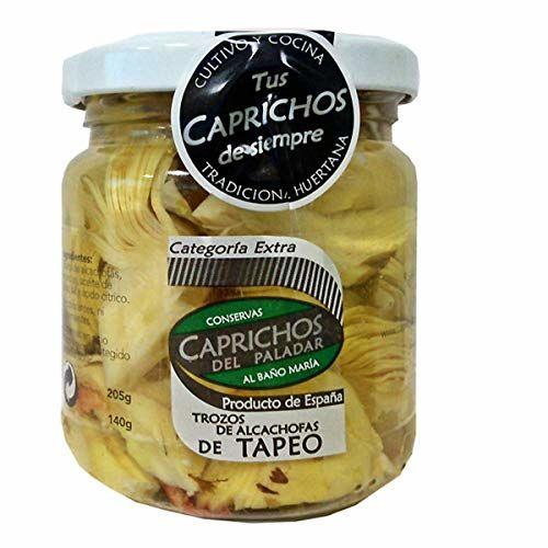 Caprichos Del Paladar Snack Artichokes Dressing