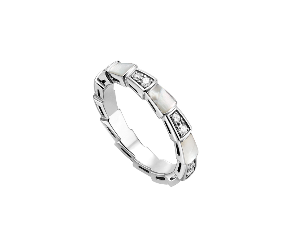 KN Bulgaria 925 ring gift 1 1 Original 100 925 Sterling Silver Women The same style Jewelry High end Quality Gift Have logo in Engagement Rings from Jewelry Accessories