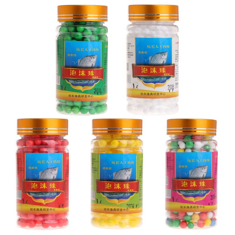 Foam Beads Carp Fishing Bait Lure Tackle Beans Floating Rigging Ball Accessories Suit For Fishing