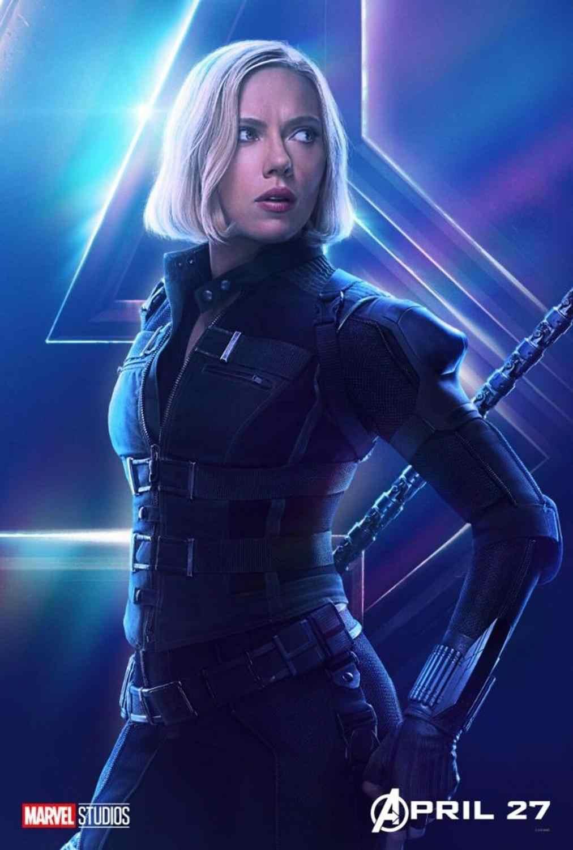 "2020 Movie Silk Fabric Poster 24/""x36/"" 11/""x17/"" Scarlett Black Widow"