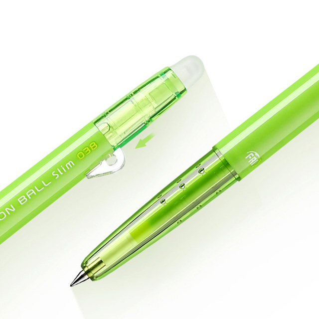 Japan Pilot FRIXION Pen slim Erasable Gel Pen Ball Point 0.38 mm Japan LFBS-18UF 20 Color Available 1