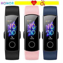 HONOR Band 5 Smart Wristband Oximeter Blood oxygen Color Screen Full Touch Heart Rate Stroke Detection Sleep for xiaomi